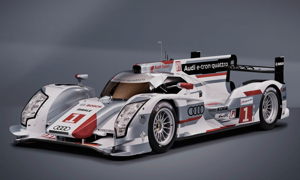 Audi E Tron Quattro Racing Car