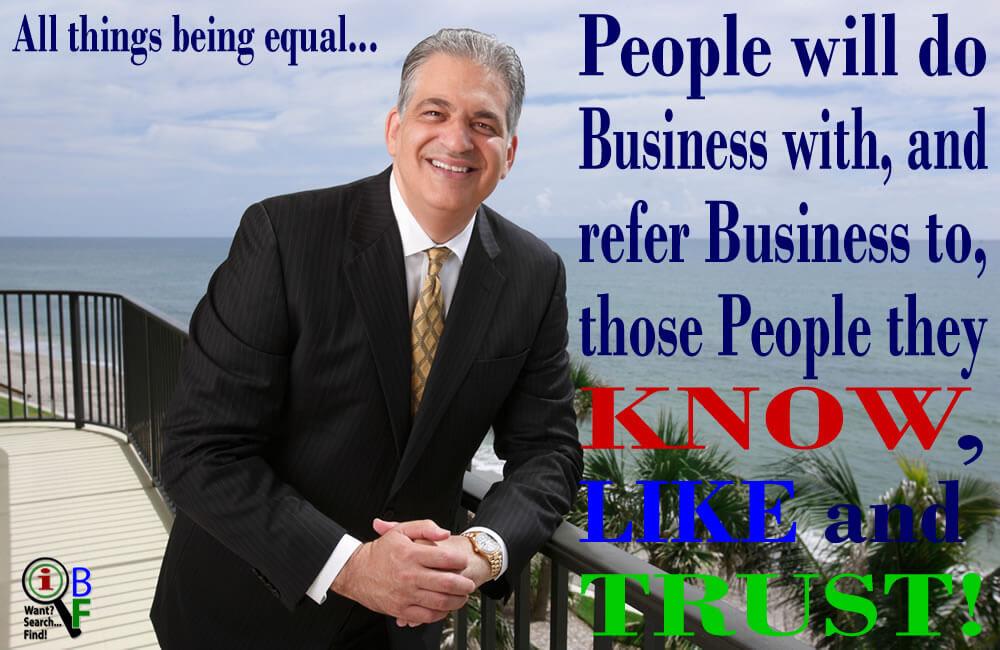 Bob Burg says \