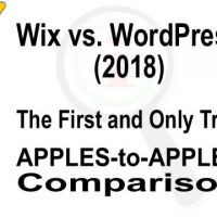 Wix vs. WordPress (2018) – the First and Only True APPLES-to-APPLES Comparison