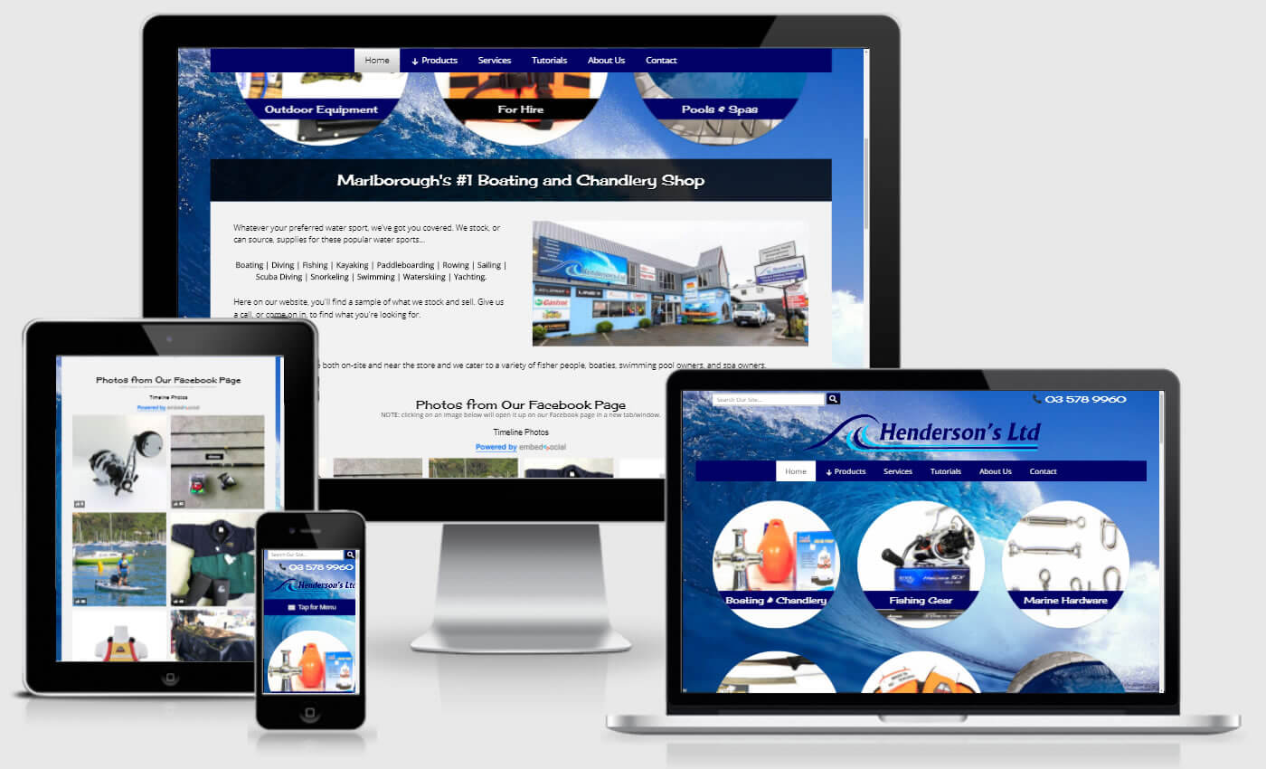 Website Design For Hendersons Ltd By IBeFound Digital Marketing Division