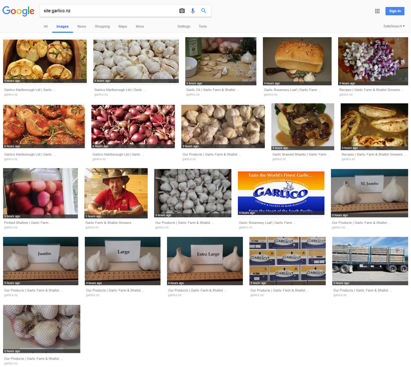 Image Search Results For Garlico on 2018-10-13