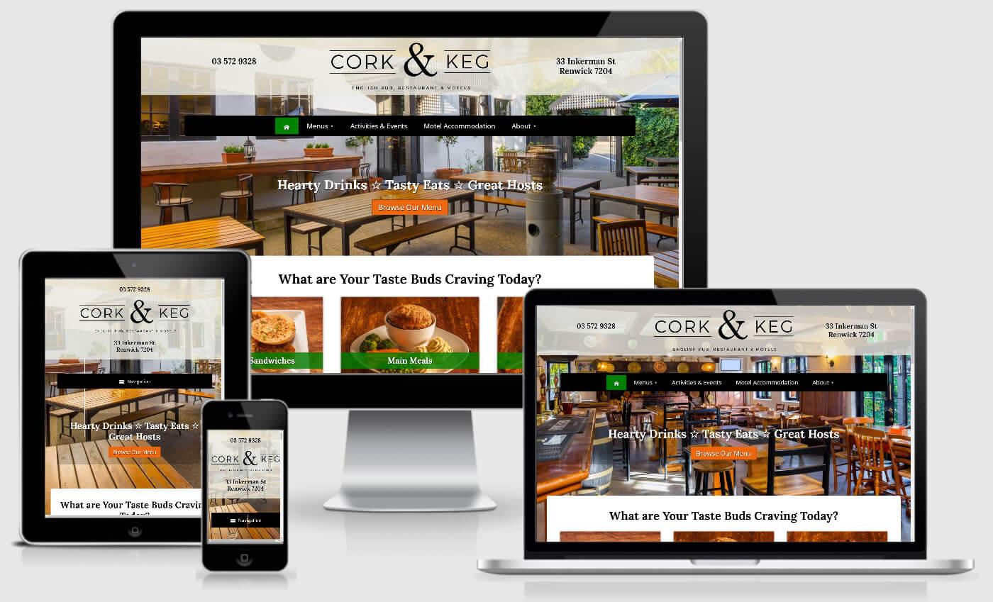 Cork & Keg English Pub