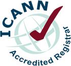 Icann Accredited Logo For Blog By IBeFound Digital Marketing NZ